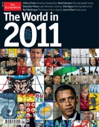 The World in 2011 includes information on a variety of topics, from currency wars stoked by the G-20 and historic bailouts in Europe to the vulnerability of micro-lending and a new majority in Congress.