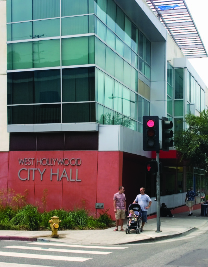 West Hollywood City Hall, 2008.  According to