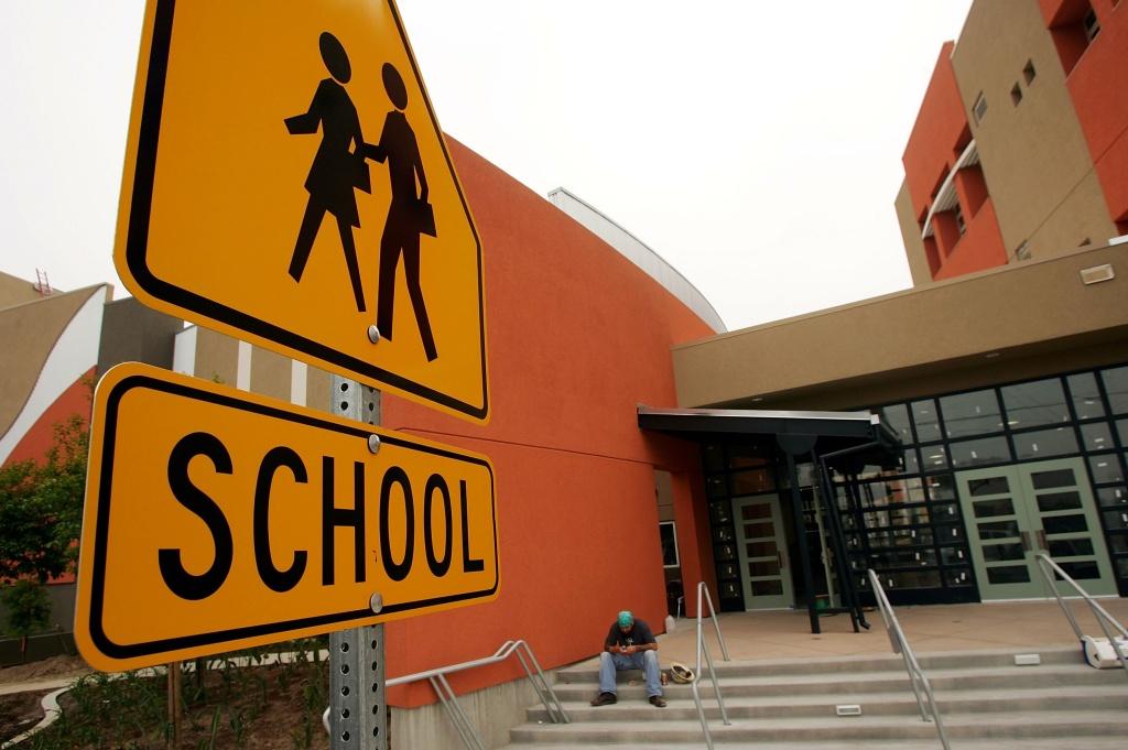 california la los angeles maywood school