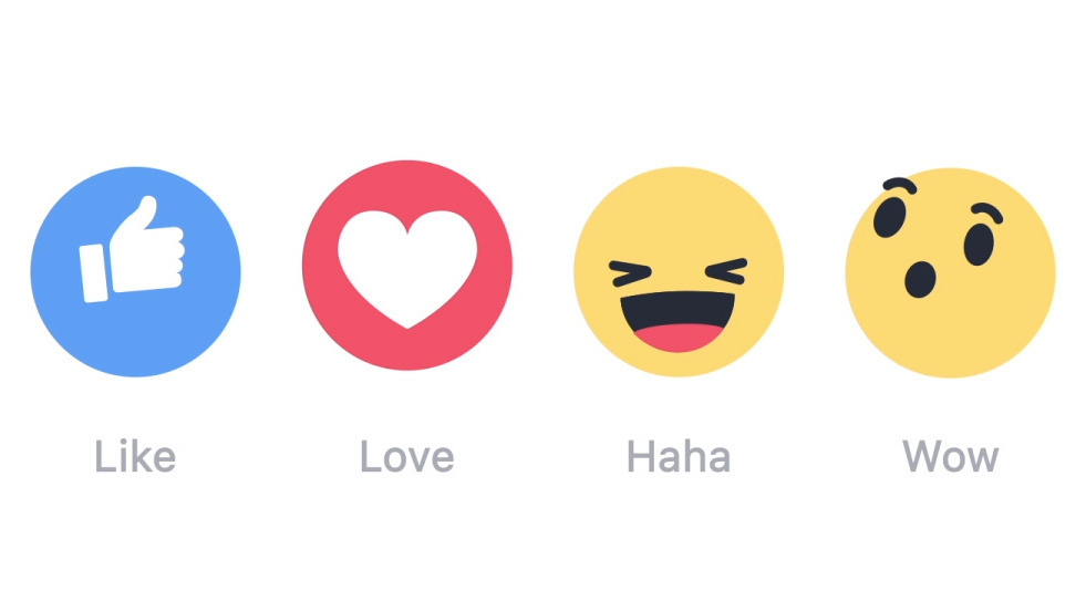 Facebook's new 'reactions' are getting a lot of... reactions.