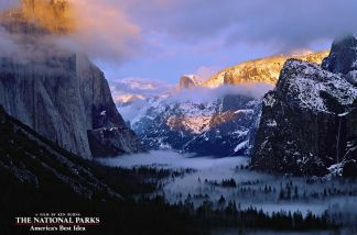 Yosemite Valley in winter, Yosemite National Park. As America's financial clock ticks toward a so-called sequester that would cut funding to countless government agencies, The Associated Press has obtained a National Park Service memo that compiles a list of potential effects at the country's most beautiful and historic places.