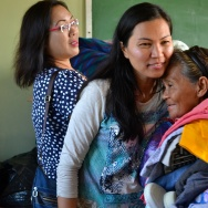 Theresa Canete, an accountant from West Covina, traveled back to the Philippines to bring supplies and organize a medical fair for typhoon survivors.