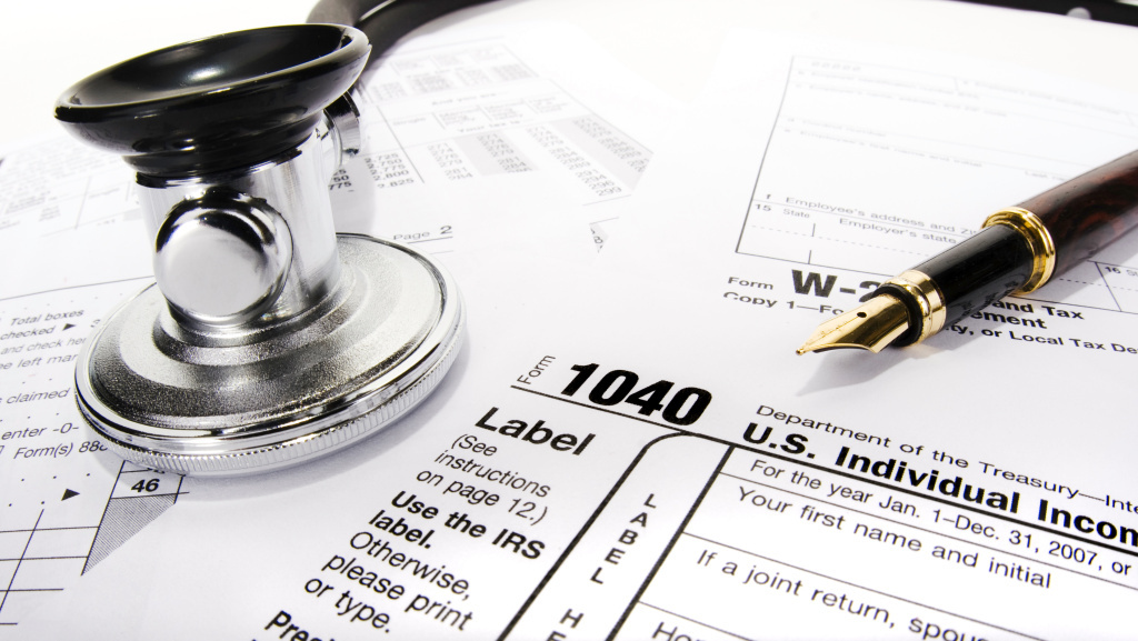 The tax penalty is designed to encourage people to sign up for health insurance.