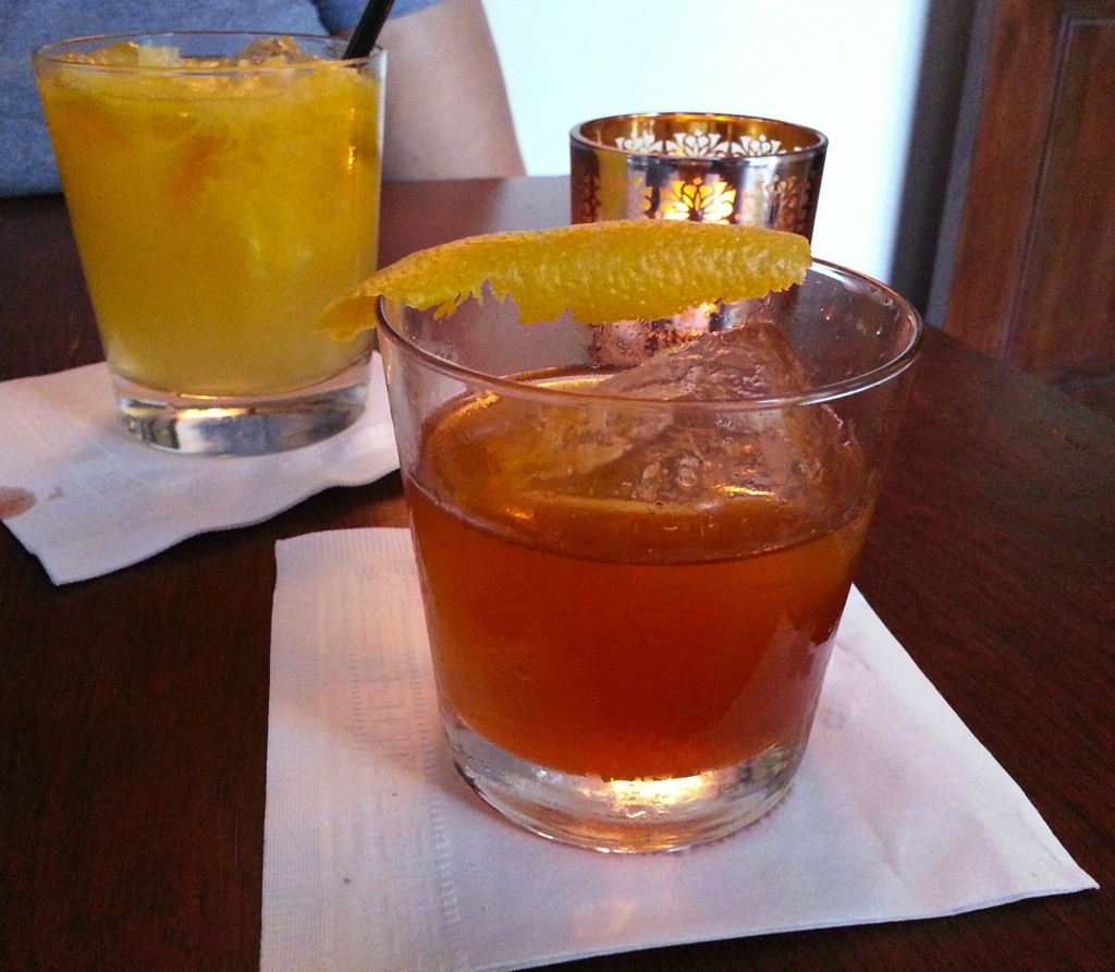 Honey-nut Old Fashioned, 1886 at The Raymond