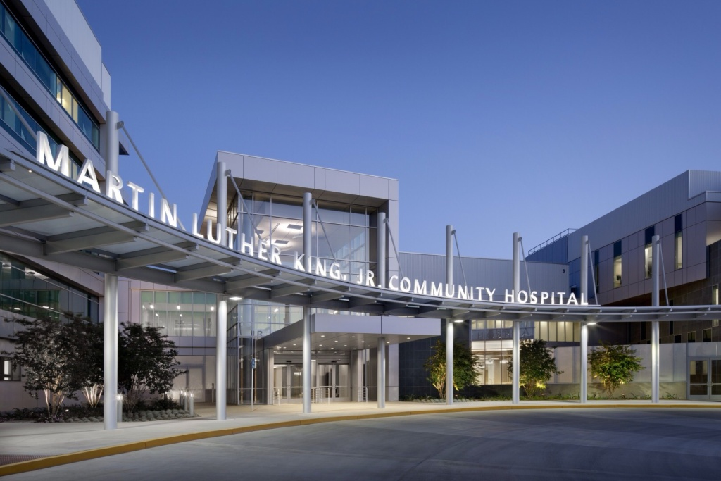new mlk hospital opens in south la kpcc the brand new privately run martin luther king jr community hospital