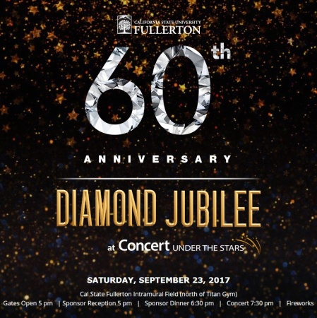 Cal State Fullerton's 60th Anniversary Concert Under The Stars