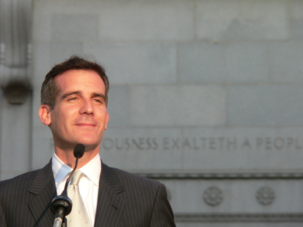 Mayor Eric Garcetti didn't have anything to say about the 2020 Commission in his State of the City speech.