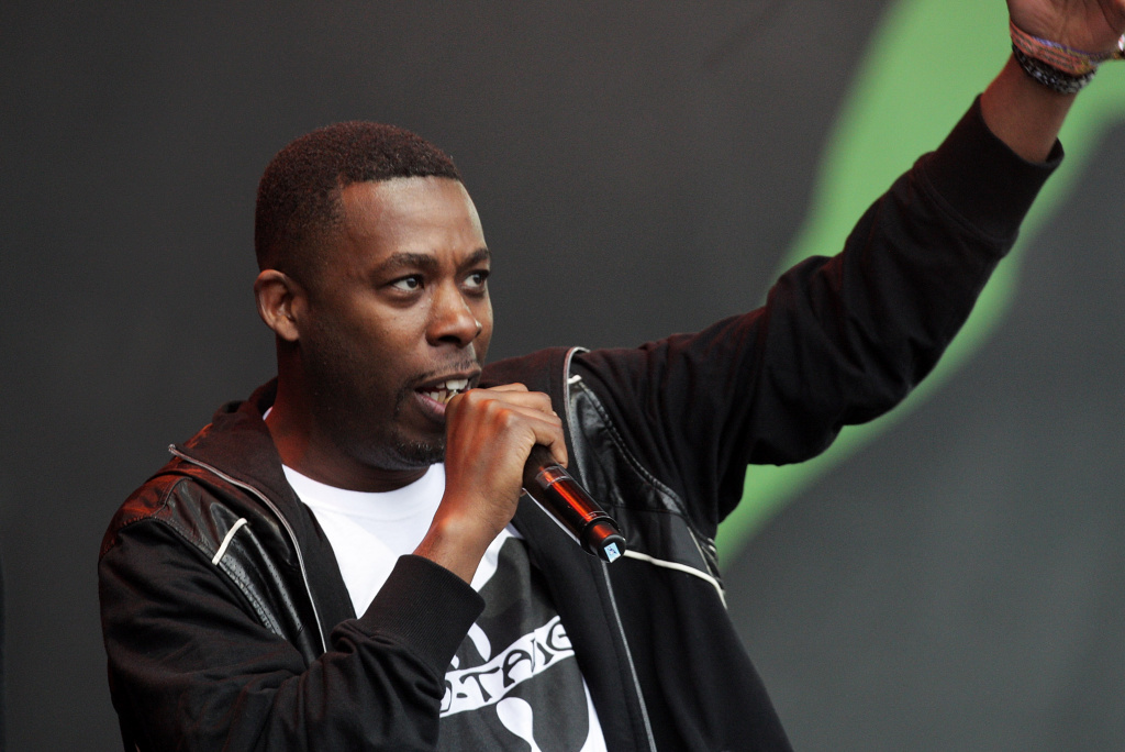GZA of The Wu-Tang Clan performs at the Glastonbury Festival at Worthy Farm, Pilton on June 24, 2011 in Glastonbury, England. The festival, which started in 1970 when several hundred hippies paid 1 GBP to watch Marc Bolan, has grown into Europe's largest music festival attracting more than 175,000 people over five days.