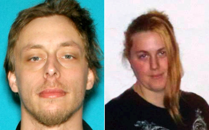 In a combination of handouts provided by the Las Vegas Metropolitan Police Department (LVMPD), Jerad Miller (L) Amanda Miller (R) pose for mug shots on an unspecified date and location. Two LVMPD police officers, Alyn Beck, 42, and Igor Soldo, 31 were shot and killed by two assailants at a pizza restaurant on June 8, 2014 in Las Vegas, Nevada. The two suspects, married couple Jerad and Amanda Miller then reportedly went across the street to a Wal-Mart where they killed a third person, Joseph Wilcox, before killing themselves.