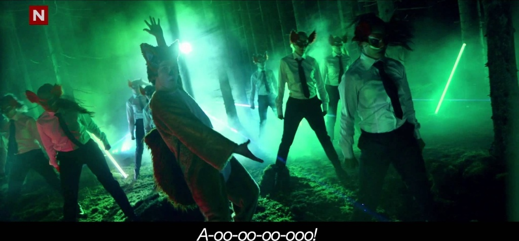 The latest music video from Norwegian musicians/talk show hosts Ylvis,