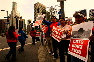 Judge orders injunction against LAUSD teacher layoffs in ACLU lawsuit