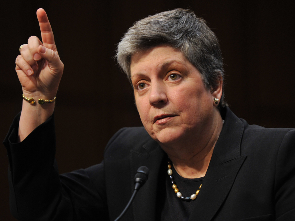 Current UC President, former Homeland Security Secretary Janet Napolitano.