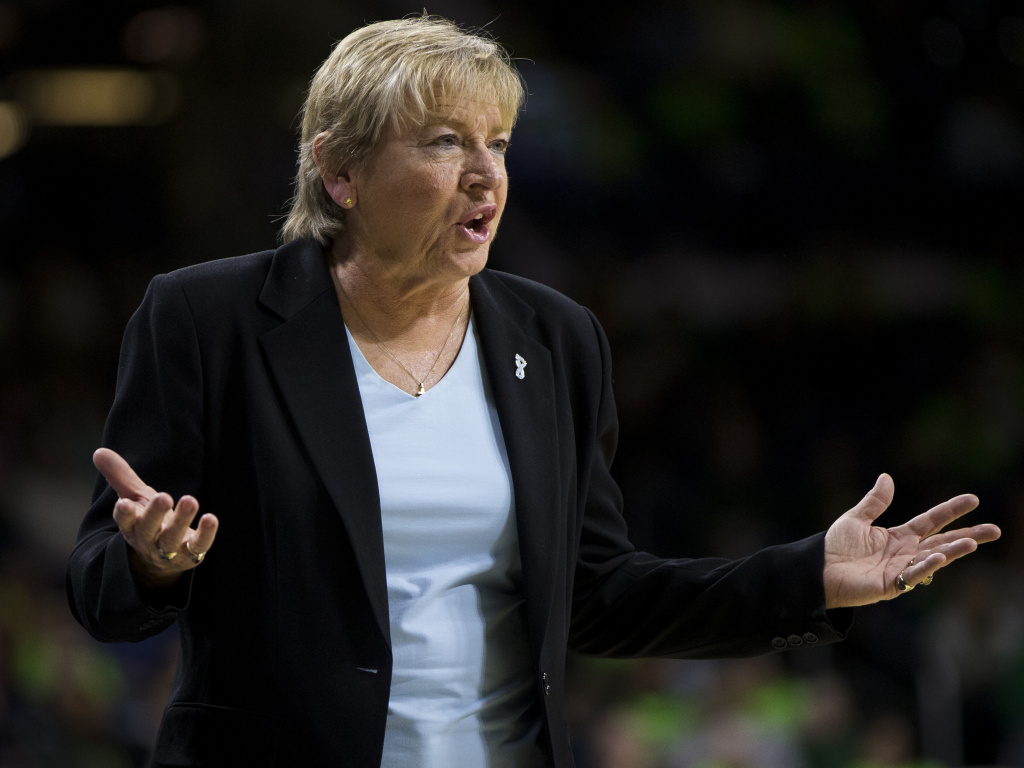 Hatchell, who has led the Tar Heels since 1986, did not address the allegations against her or the findings of the independent report.
