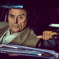"""Ian MacShane, left, and Ricky Wittle star in the Starz series """"American Gods."""""""
