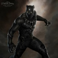 """Black Panther"" concept art"