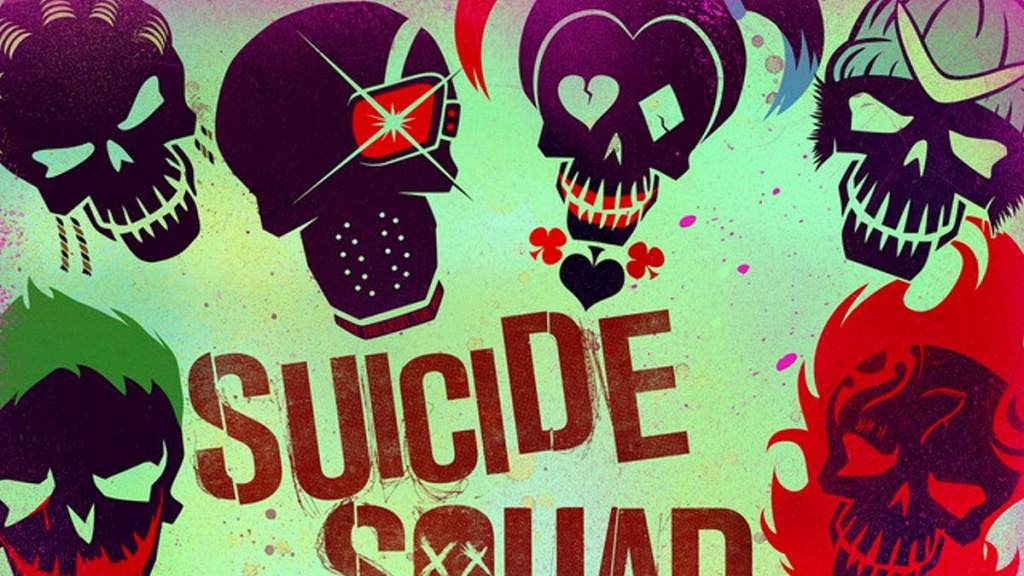 Cover art for The Suicide Squad soundtrack