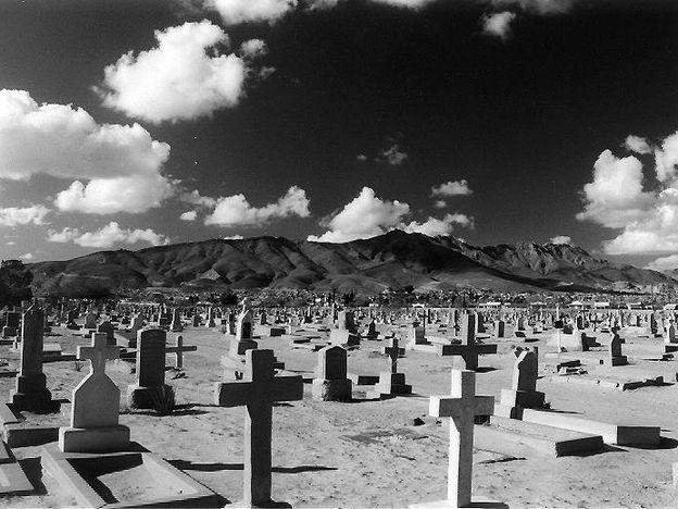 Concordia Cemetery in El Paso, Texas.