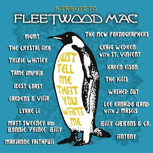 "The cover of  ""Just Tell Me That You Want Me"", a tribute album of Fleetwood Mac songs."