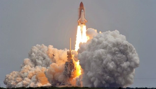 US space shuttle Atlantis lifts off on July 8, 2011 at Kennedy Space Center in Florida for the final flight of the shuttle program.
