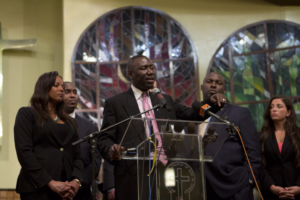 Attorney Benjamin Crump answers questions about the latest developments in the case.