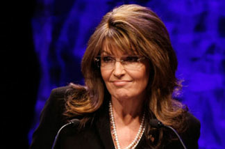 "A year later,"" Palin said, ""I gotta ask the supporters of all that, 'How's that hopey, changey thing working out for ya?'"""