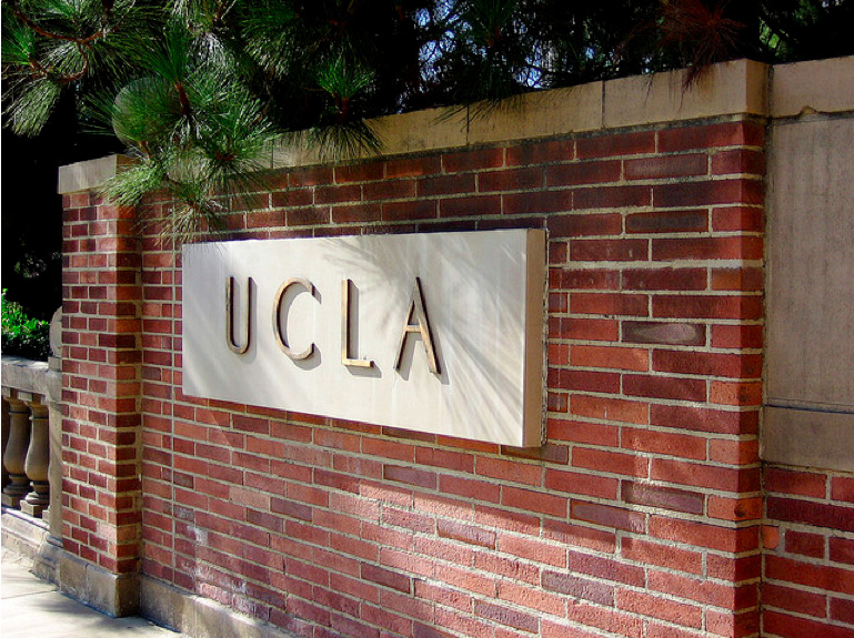 The UCLA campus in Westwood, CA