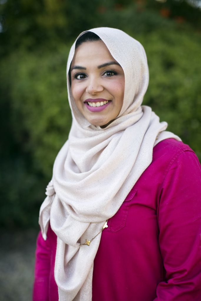 Shahzia Rahman recently decided to begin wearing hijab, the traditional headscarf, everyday after the Paris attacks. Rahman wanted to reveal to neighbors and other who know her that she's Muslim, as a way of countering negative stereotypes. But family members worry about her as hate crimes against Muslims rise, and women's headscarves have made them easy targets.