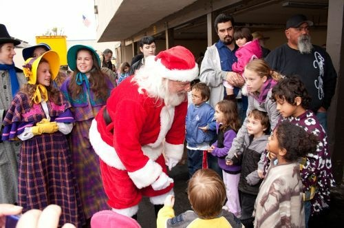 Every year Grandma's House of Hope hosts a holiday party for children living in an Anaheim motel.