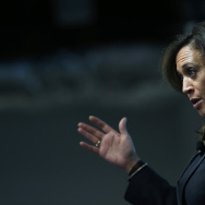 California DA Kamala Harris Speaks At Facebook HQ On Safer Internet Day