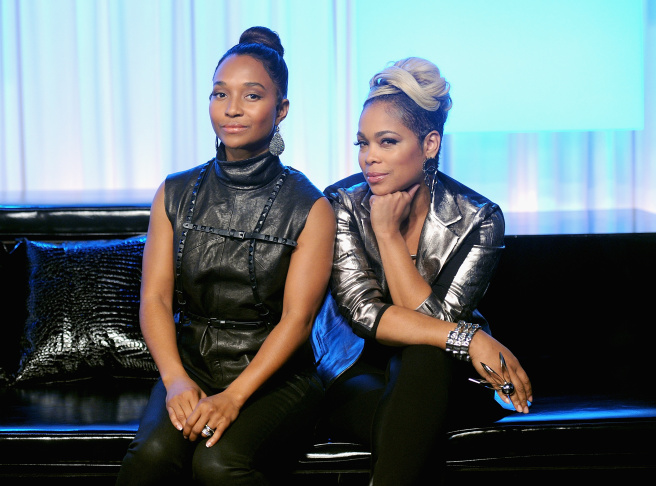 Chilli and T-Boz of TLC Stop By Music Choice's