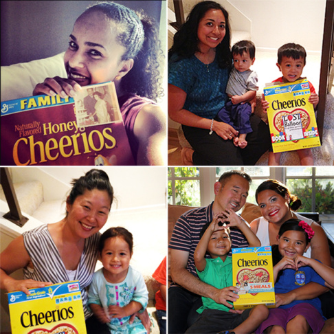 Multiracial Cheerios