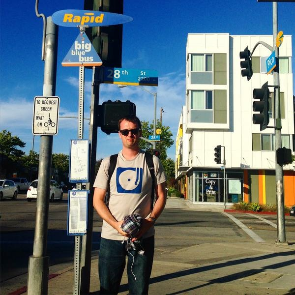 Matt Sanderson's commute takes him from East Hollywood to Venice using two transfers. But it's the parts before and after riding Metro that can make or break his willingness to use mass transit.