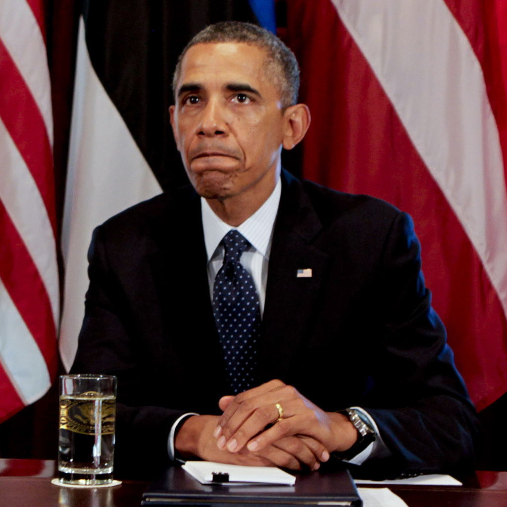 President Obama discusses the situation in Syria on Friday from the White House Cabinet Room.