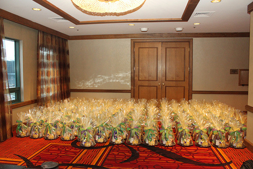 150 corporate gift baskets by Frederick Basket, 2012.