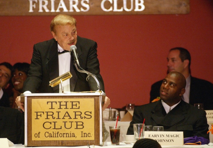 Friars Club Honors Earvin Magic Johnson