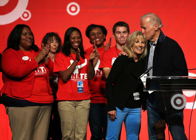 Biden, Volunteers Participate In National Day Of Service