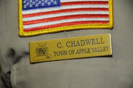 Sheriff Deputy Carolyn Chadwell's badge