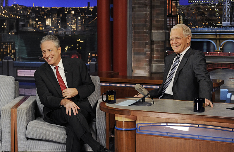 Jon Stewart talks with Dave about his new film