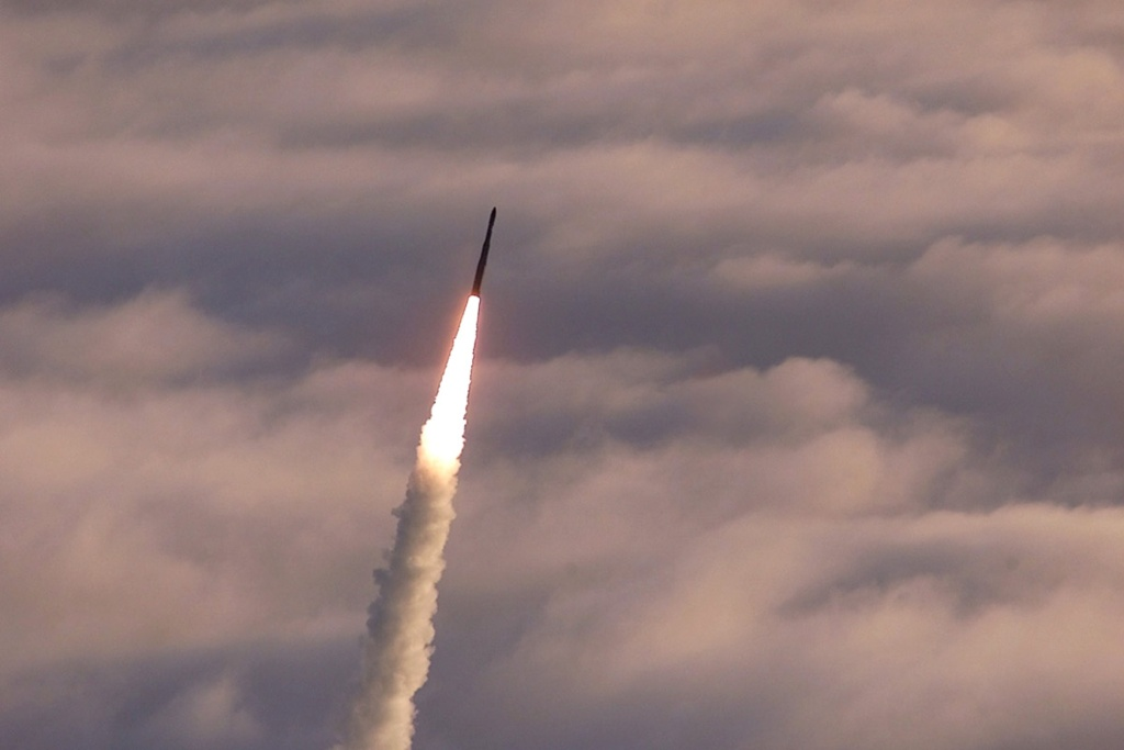 The U.S. Supreme Court will decide whether to reinstate a man's conviction for protesting outside Vandenberg Air Force Base in Southern California. (File photo: An unarmed Minuteman II intercontinental ballistic missile launches from Vandenberg Air Force Base, California. Photo by USAF/Getty Images)