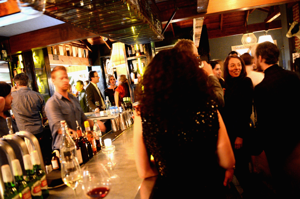 LA general view of the atmosphere during Vanity Fair and the Chrysler brand Celebration of Les Misérables in support of The Los Angeles Fund for Public Education at Eveleigh restaurant on February 20, 2013 in Los Angeles, California.