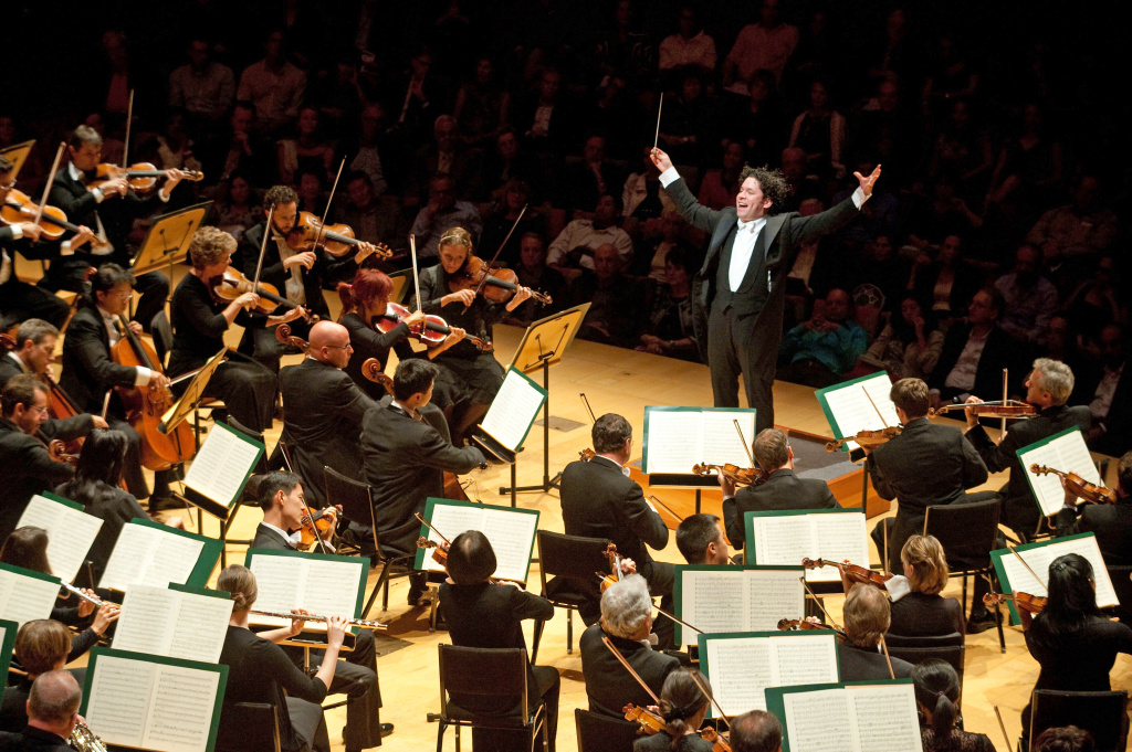Gustavo Dudamel conducts the Los Angeles Philharmonic.