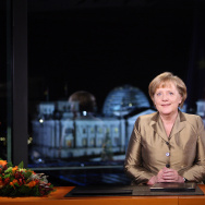 Merkel Delivers New Years Address