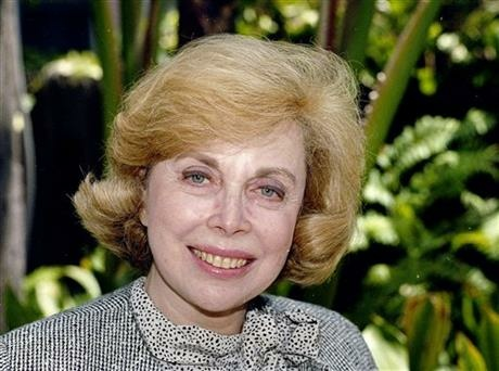 In this Sept. 1, 1987 file photo, Dr. Joyce Brothers takes a break from a busy schedule in Los Angeles to talk about her upcoming television series,