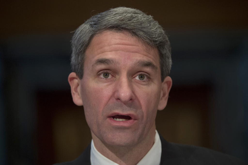 Ken Cuccinelli, seen here in 2016, was named on Monday as acting head of U.S. Citizenship and Immigration Services, which is charged with adjudicating requests for citizenship, green cards and visas.