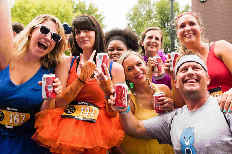 Run, grab a beer, repeat at the National Beer Mile.
