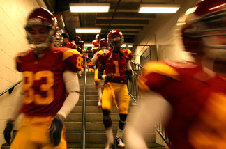USC is now offering season ticket holders the chance to run onto the field with players.