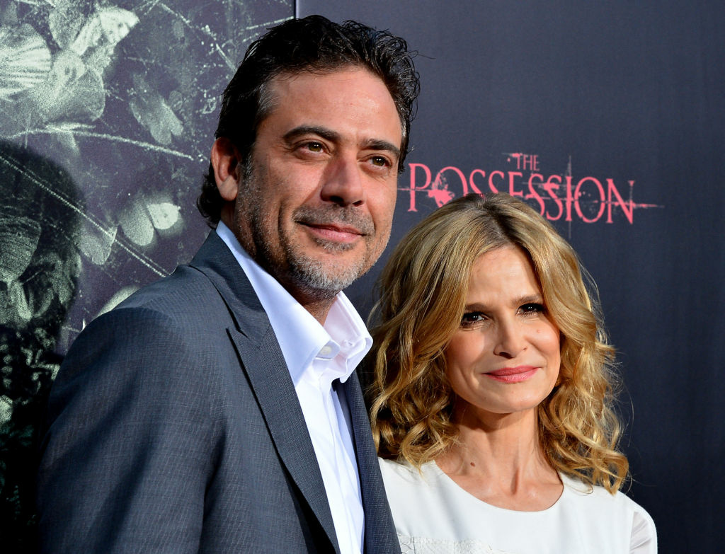 "Actors Jeffrey Dean Morgan and Kyra Sedgwick arrives at the Premiere of Lionsgate Films' ""The Possession"" at ArcLight Cinemas on Aug. 28, 2012 in Hollywood."