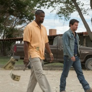 "Denzel Washington and Mark Wahlberg in ""2 Guns"""