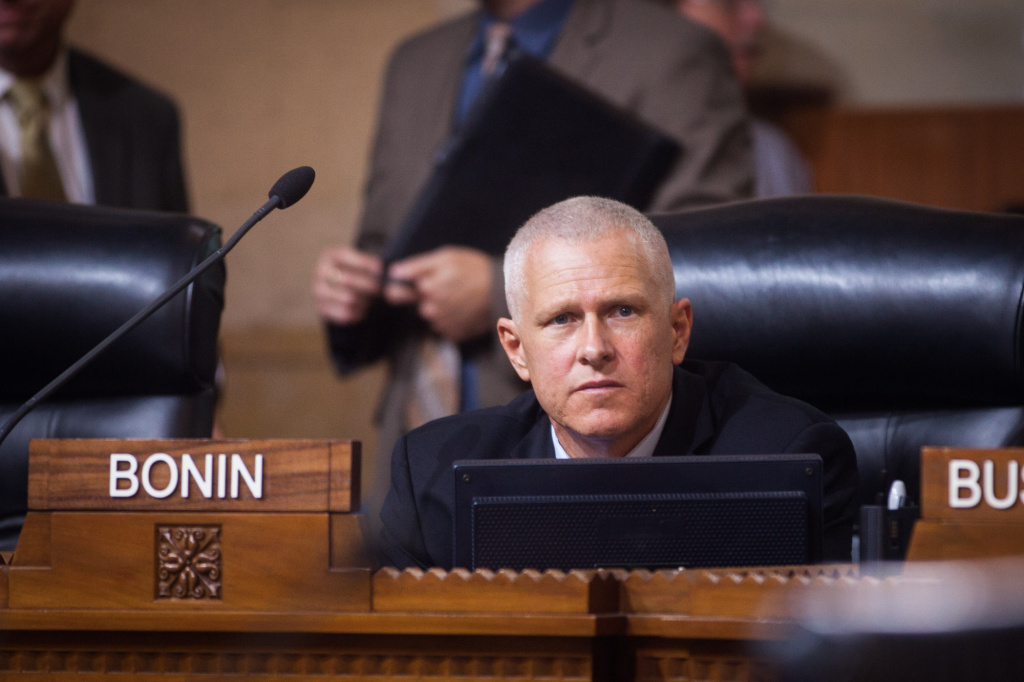 Los Angeles City Councilman Mike Bonin (Eleventh District).