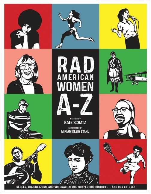 The cover art for 'Rad American Women A-Z'